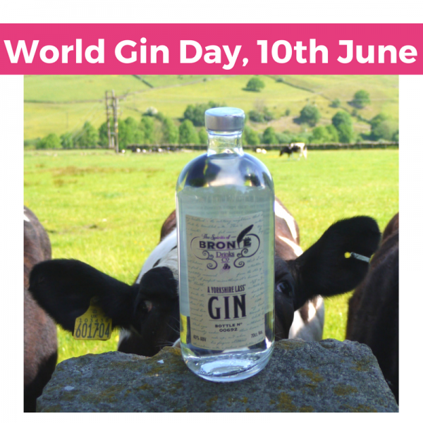 Celebrating World Gin Day 2017 with the first wave of stockists of Spirits of Bronte Drinks Company's Yorkshire Lass' Gin!